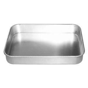 Aluminium dish